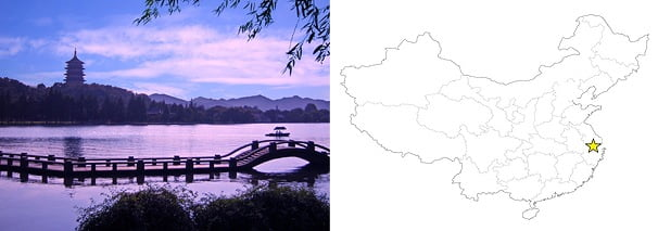 View of Hangzhou