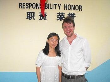 Greg Clarke - Kimi and I in York School