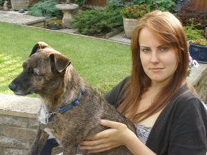 Amanda Sinclair - me and tigger