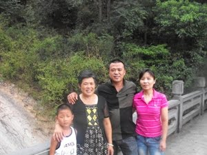 Greg Clark - Chinese Family who asked for my picture