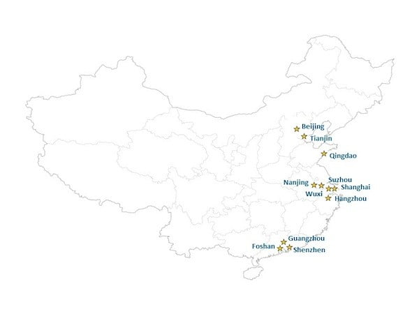 Wall Street English China School Locations