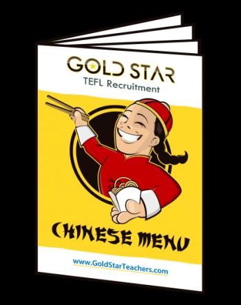 Chinese Menu Booklet