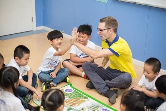 работа в Китае учителем английского