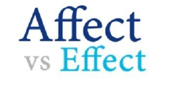 Affect vs Effect - 350