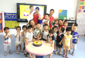 Talkiing To Teachers - Liv Conroy at Nanhai International Kindergarten photo 3