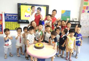 Talkiing To Teachers - Liv Conroy at Nanhai International Kindergarten photo 3