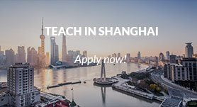 Teach in Shanghai