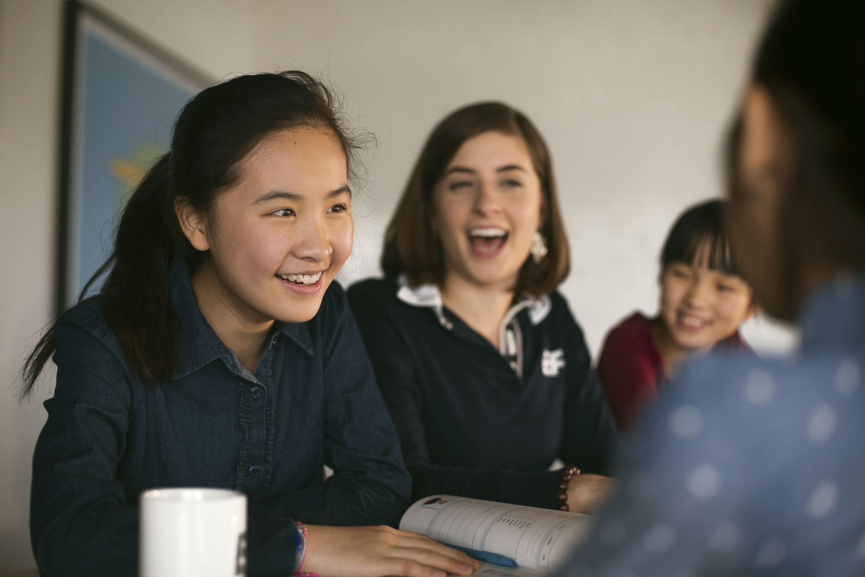 Why I Like Teaching Teenagers