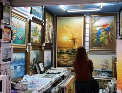 Day Trips from Shenzhen: The Dafen Oil Painting Village